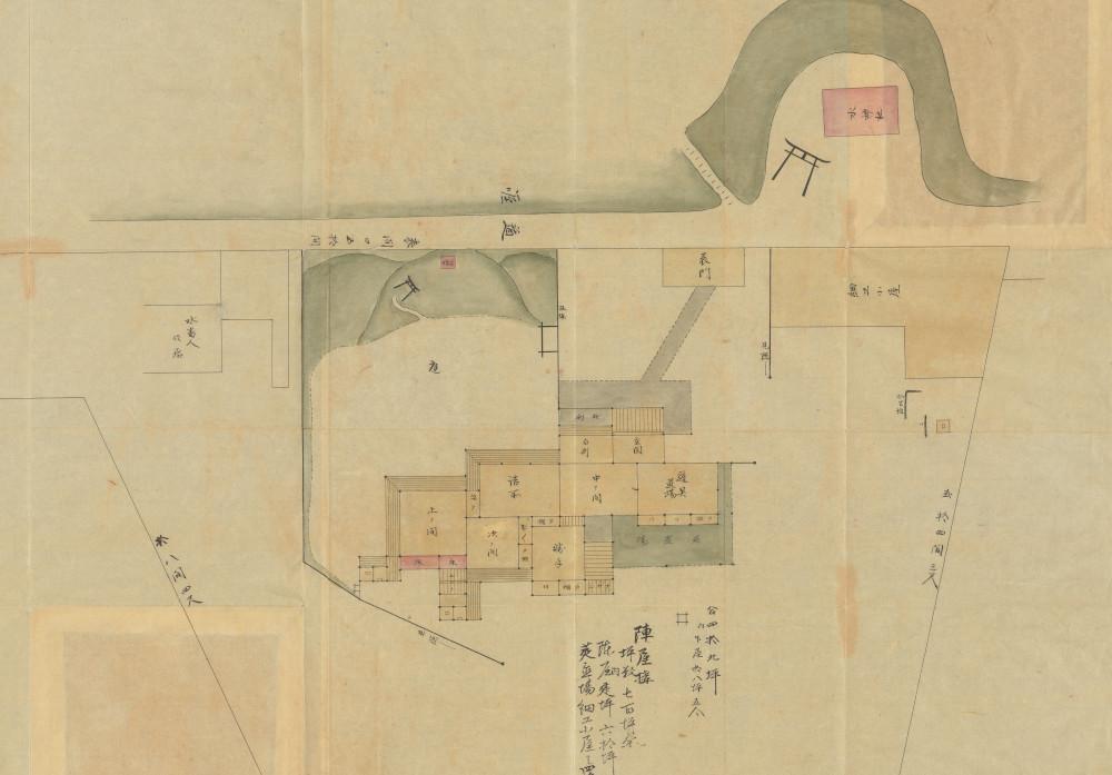 羽村旧陣屋之図